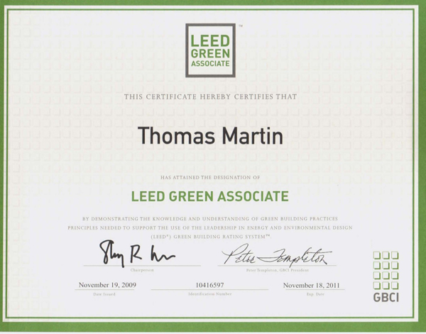 Green Building/LEED
